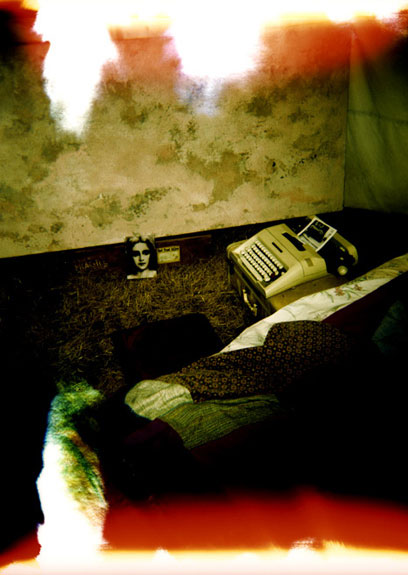 typewriter  / 40 x 60 / on canvas / edition of 3